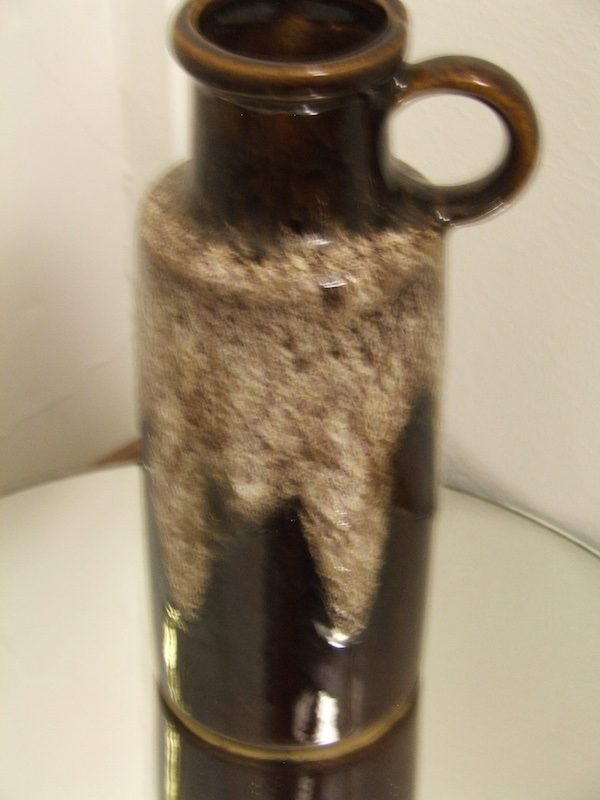 West German Pottery Vasejug Very Rare Colour 1066 Antiques And